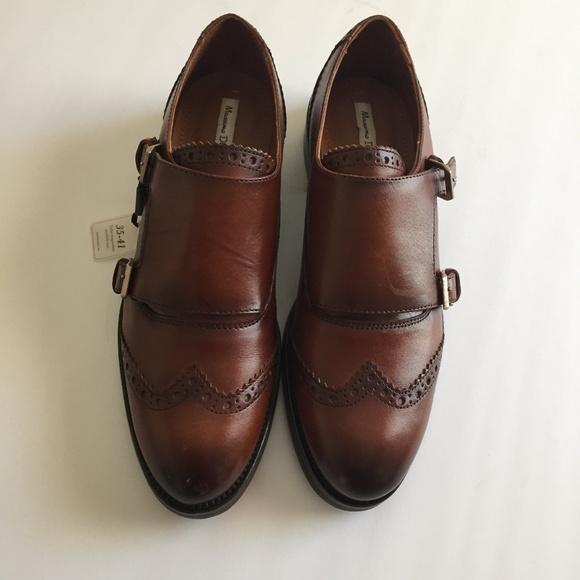 Brand Nwt Double Satchel Monk Shoes Sz